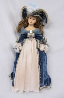 Duck House Heirloom Porcelain Doll