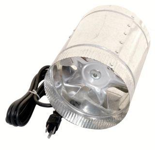 8Inch Inline Duct Exhaust 400CFM Fan Booster Fan Blower Air cool Dfan8