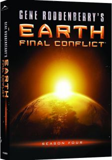 Earth Final Conflict Complete Fourth Season 4 DVD New