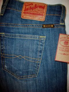 LUCKY BRAND EASY RIDER STRETCH WOMENS CROP CAPRI JEANS SIZE 10 L26 NEW