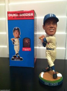 Duke Snider DODGERS Bobble Head Bobblehead SGA MIB August 9, 2011 FREE