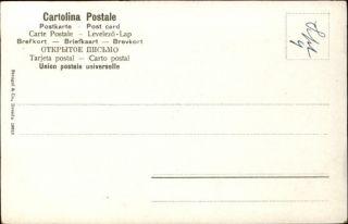 ITALY Stengel Pub Italian Woman Ethnic Costume c1905 Postcard