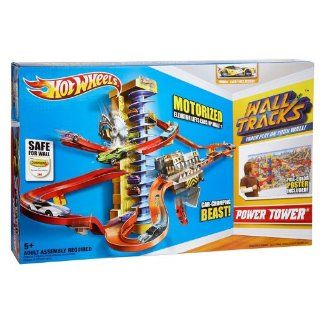 Gift Kids Toy Hot Wheels Team Wall Tracks Power Tower Track Set