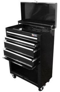 22 Rolling Tool Chest Cabinet Storage Drawers Toolbox Casters