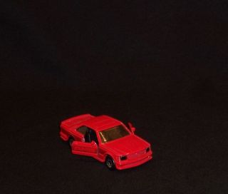 Vintage 1984 Matchbox Red Mercedes Benz AMG 500 Car Doors Open Hard To