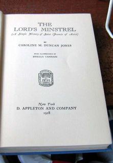 The St Francis of Assisi Caroline Duncan Jones 1928 HB Nodj