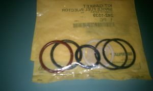 GENUINE CATERPILLAR 2421539 FUEL INJECTOR SEAL KIT 3126   C7
