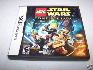 LEGO Star Wars The Complete Saga Nintendo DS Lite DSi XL 3DS Complete