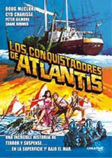 Warlords of Atlantis New PAL Classic DVD Doug McClure