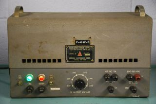 Vintage Lambda Electronics Corp. Model 25 Regulated Power Supply