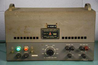 Vintage Lambda Electronics Corp. Model 25 Regulated Power Supply