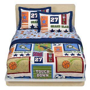Circo Twin Bed in Bag Football Baseball All Star Sport Comforter Set