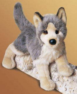 Douglas Toys 16 Plush Tyson Floppy Wolf Stuffed New