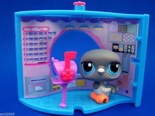 Littlest Pet Shop Dove Post Office Nook 356 Lot Retired