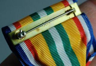 Merchant Marines Middle East Med SR Medal Pin Full Size