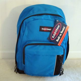 Eastpak Mantra Backpack Day School Hike Bag Lilac Pink Blue