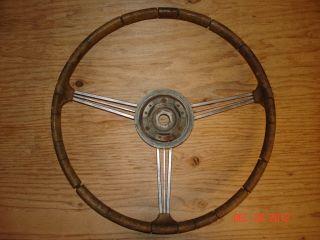Vintage Unknown Make Banjo Steering Wheel