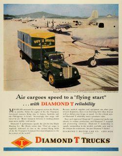 Motor Car Trucks Model 910 Air Transport Hamilton Field Doyle