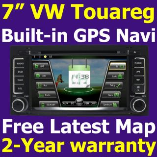 Auto Radio RDS Car GPS Navigation System DVD Player for VW