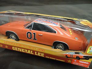 Dukes of Hazzard General Lee 1969 Dodge Charger Action Sound Model Toy