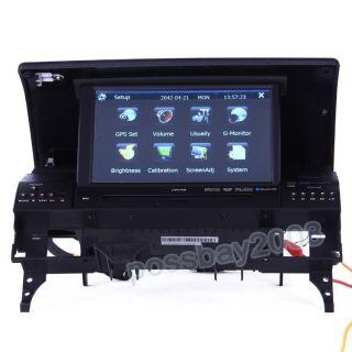Car GPS Navigation Bluetooth iPod Radio USB MP3 TV DVD Player