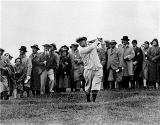 Gene Sarazen PGA Pro Golf Augusta National Masters 1932 British Open