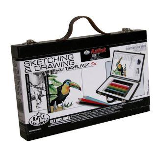 Sketching Artist Drawing Travel Kit Easy Art Set Professional Pencils