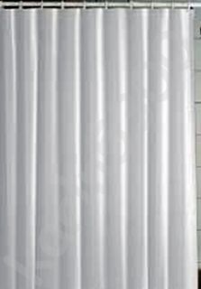 NEW) Vinyl Shower Curtain Liner   WHITE   70 x 72 with Magnets U.S