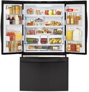 25 CU ft Black Refrigerator Ice Maker Large Capacity LFC25776SB