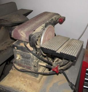 used DURACRAFT 1 2 BELT DISC SANDER M56435 pickup in llinois