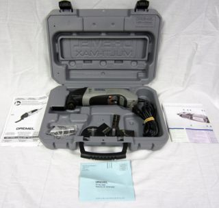 Dremel Multi max 6300 Oscillating Tool Corded Power Tool + Manual Case