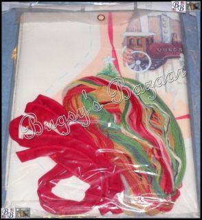 Needle Treasures Parry's Stocking Crewel Stitch Christmas Kit –J