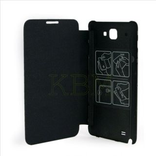 Genuine New Samsung Original Flip Leather Case Cover Galaxy Note N7000