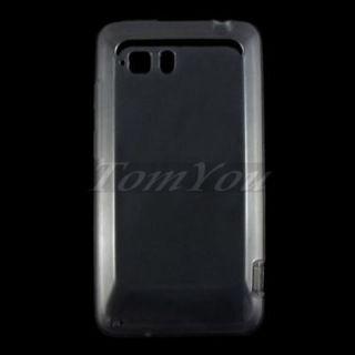 Smoke Soft Rubber TPU Skin Case Cover For HTC Vivid G19 Raider 4G