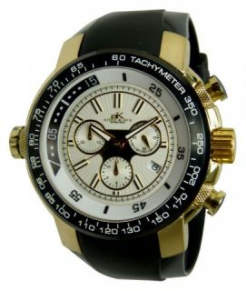 THIS IS A BRAND NEW AUTHENTIC ADEE KAYE MENS GOLD STAINLESS