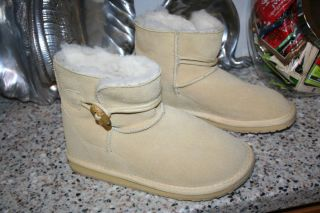 EMU SIZE 5 US 35 36 EUR SLIPPERS BOOTS WOOL LINING SHEARLING LKNEW