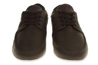 Lacoste Dreyfus MB SPM Schuhe Sneaker Dark Brown Dark Blue 723SPM3114