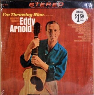 Eddy Arnold IM Throwing Rice 65 RCA Vinyl LP Hear Now