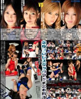 New Female Women Wrestling 60 Minutes Tag Team Ring DVD Pro Japanese 3