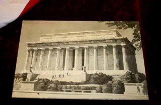 Abe Lincoln Memorial Signed Poem by Edwin Markum 1922 Frame COA UACC
