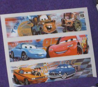 Cars Edible Image Rice Paper Sheets Prints Decoration