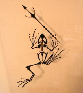 Navy Seal Decal Team 6 DEVGRU Frog Skeleton trident Real Symbol