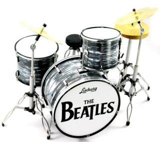 Miniature Guitars The Beatles Set Ed Sillivan Fab Four Awesome