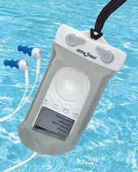 iPod Waterproof Case  Dry Pak Float with Earbuds