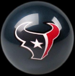 Houston Texans NFL Billiard Pool Table Cue 8 Ball