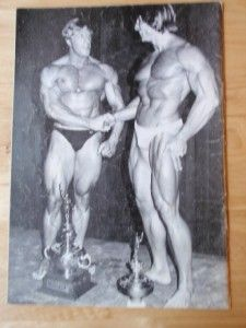 Mr Universe Bodybuilding Contest Program Beritl Fox Tony Emmott