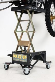 MX EZ UP Lift Stand Dirt Bike Dirtbike Scissor Lift CRF Motocross