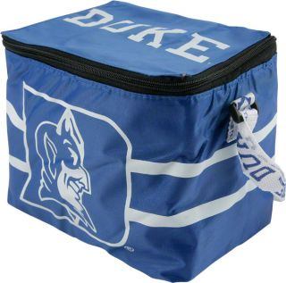 duke blue devils lunch bag 6 pack zipper cooler