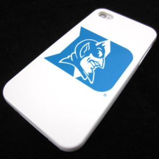 Apple iPhone 4 4S 4G Duke Blue Devils Rubber Silicone Skin Case Phone