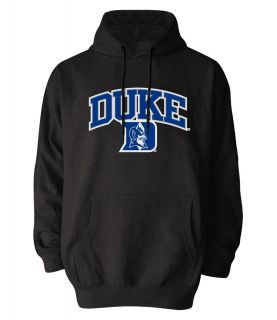 Duke Blue Devils Dark Grey Adult Embroidered Hooded Sweatshirt New